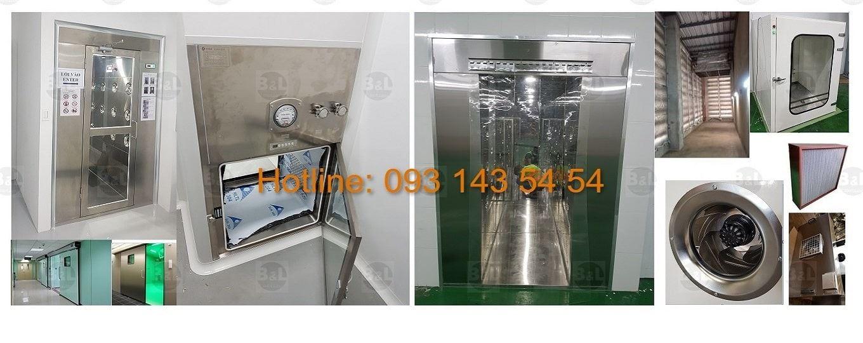 Hotline: 093 143 54 54 - Công nghệ lọc khí - Chuyên sản xuất thiết bị và thi công phòng sạch tốt nhất Việt Nam.